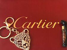 Vintage Cartier Panthere Parfum Perfume 1.1 Ml & Panthere Llavero Regalo