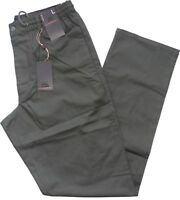 Pantalone uomo taglia M L XL XXL 3XL cotone leggero Verde SEA BARRIER SPIAGGIA