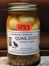 6 Jars Of Louisiana's Best Pickled Habanero Quail Eggs