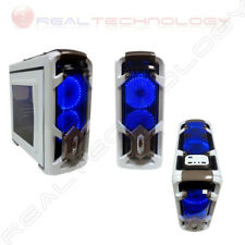 CASE CORTEK GAMING MicroATX CORTEK GRAVITY COLORE BIANCO VENTOLE BLU USB 3.0