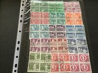 Germany  used  Stamps blocks  Page  Ref 50024