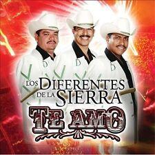 Diferentes De La Sierra : Te Amo CD
