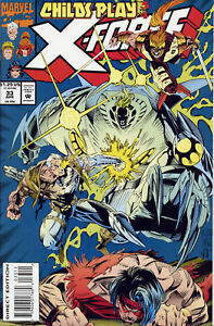 X-Force - Vol. 1 - # 33 - Child's Play pt.3 of 4 - Very Fine/Near Mint condition