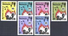 RWANDA - RUANDA - 1966 - Lotta contro le armi nucleari