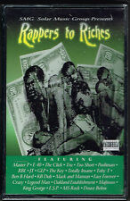 RAPPERS TO RICHES [PA] VARIOUS ARTISTS (2-CASSETTE SET) BRAND NEW FACTORY SEALED