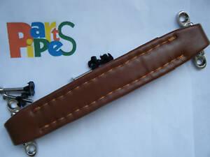 Penn Elcom Heavy Duty Vintage Handle For Amplifier Leather Look BROWN