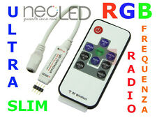 RGB Controller Mini 12V 24V striscie Barre Led 3528 5050 5630 Telecomando RF!