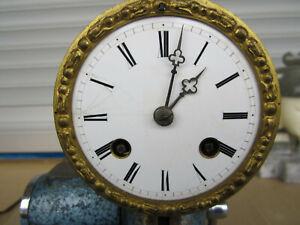 Altes französisches originales Pendulen Uhrwerk