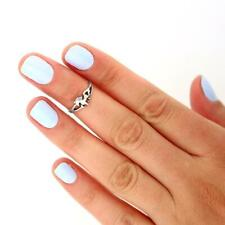 Sterling Silver 925 Knuckle Ring Horse Adjustable Ring Animal Cute Midi Ring T93