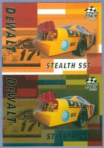 MATT KENSETH 2002 PP Stealth Base & Gold Parallel # 56 & P56