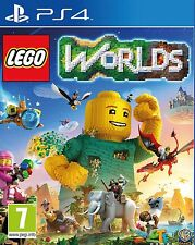 Lego Worlds PS4 NEW SEALED DISPATCHING TODAY ALL ORDERS BY 2 PM