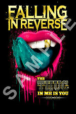 FALLING IN REVERSE 12x18 THE THUG IN ME IS YOU POSTER BAND RONNIE RADKE 3