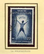 STAMP / TIMBRE FRANCE OBLITERE N° 1224  LA POLIOMYELITE