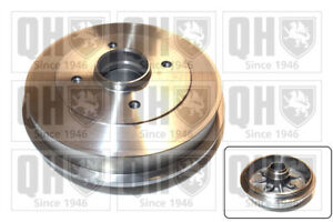 Brake Drum fits PEUGEOT 306 1.6 Rear 97 to 02 With ABS QH 424740 Quality New