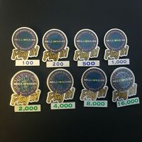 Who Wants to Be a Millionaire: Play it! Set 8 Pins - Disney Pin 4559