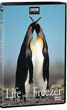 NEW DVD - BBC VIDEO - LIFE IN THE FREEZER - DAVID ATTENBOROUGH - 3hr - ANTARCTIC