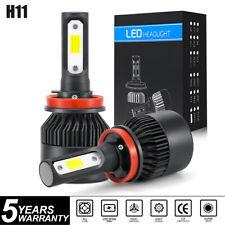 Pair H11 255000LM CREE LED Headlight Kit Hi Lo Beam Bulbs H9 H8 6000K Fog Light