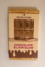 I Heart Revolution Chocolate Elixer Glow Highlighter Palette - Vegan - Boxed