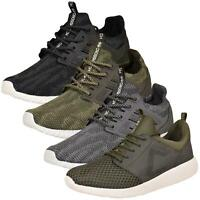 Crosshatch Mens Trainers Lightweight Lace Up Athletic Sports Gym Sneakers Shoes