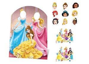Disney Princesse Fête Pack Avec Carton Stand En, Masques Et Tabletops