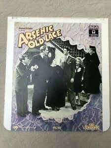 CED VideoDisc UK PAL Cary Grant ARSENIC AND OLD LACE