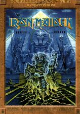 IRON MAIDEN 2008 SOMEWHERE BACK IN TIME TOUR POSTER PROGRAM / NMT 2 MINT