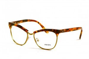 Brand New Prada Authentic Women Eyeglasses Frame VPR 14S UBM-1O1 Italy Rx Italy