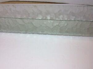 """24"""" MCM MidCentury VTG Bathroom Vanity Light FixtureGlass Shade U Shape Kichler"""