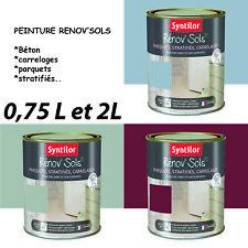 Peinture sol  béton, carrelage, parquet.. Rénov'sols Syntilor ...