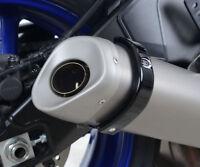 R&G Racing Black Exhaust Protector for Yamaha YZF-R6 2017 - 2018 (EP0033BK)