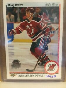 2014-15 Upper Deck Series Two 25th Anniversary Doug Brown 8/25