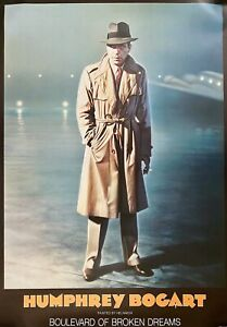 Humphrey Bogart Helnwein Boulevard of Broken Dreams Poster 46-1/2 x 33 NEW/MINT