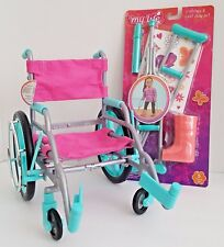 My Life As Doll Wheelchair and Crutches & Cast Play Set