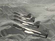 MILITARY AIR PLANE FIGHTER JET F104A FORMATION POSTER ART PRINT PICTURE BB1032A