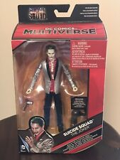 DC Multiverse Suicide Squad Joker figure MIP with Killer Croc BAF piece