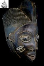 Fine Vintage Yoruba Mask, Nigeria, Africa