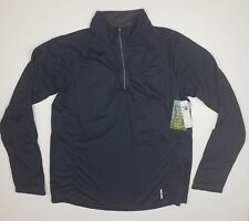 North End Insect Shield Repellent Mens Navy Blue Quarter Zip Pullover Sz S - New