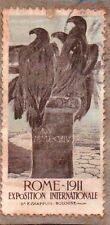 ERINNOFILI CHIUDILETTERA ROMA 1911 ESPOSIZIONE INTERNAZIONALE   21-205