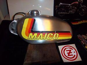 Hipoint  / Wassell aluminum gas tank enduro  Vintage husky maico CZ