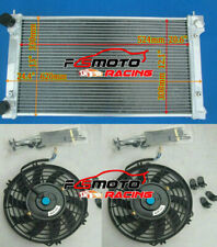 Aluminio Radiador Fan para VW Golf MK1 MK2 GTI Scirocco 1.6 1.8 8V MT 1981-1991