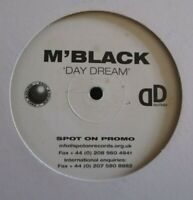 "M'BLACK ~ Day Dream ~ 1 SIDED 12"" Single - CLEAR VINYL - PROMO"