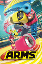 ARMS 24x36 POSTER NEW FUN GAMING GAMER WEE NINTENDO SWITCH FIGHTER CONTROLLER!!!