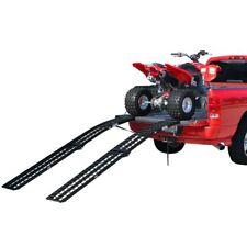 "94.5"" Folding Arched Dual Runner ATV Ramp 1,200lb Capacity"