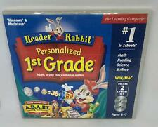 The Learning Company Reader Rabbit's 1st Grade for Pc, Mac