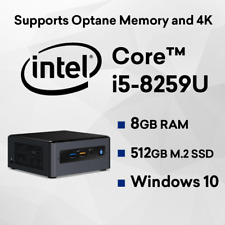 Intel 8th Gen NUC I5-8259u Quad Core Mini PC Kit Nuc8i5beh4 - Barebone