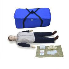 Full Body ADULT CPR Manikin AED First Aid Training Dummy Training Model Human
