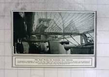 1914 Steel Netting Battleship For Protection From Splinters