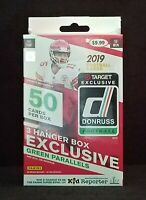 2019 Donruss Football HANGER Box TARGET Green Parallels! Murray Jones Minshew II