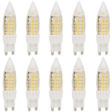 10x 5W G9 LED Birnen LED Mais Glühlampe, mit 44 SMD 2835, Warmweiß 3000K,350LM