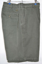 Timberland Shorts Green Cotton Flat Front Men's 40 Inseam 11""
